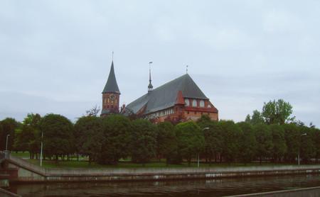 Кнайпхоф, или остров Канта — островная часть города, уголок нетронутой советским временем культуры