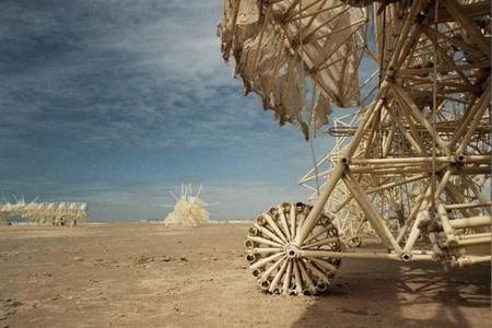 В поисках ветра. Кинетические скульптуры Тео Янсена — фото 6