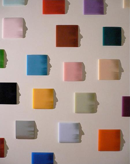 «Origami» (2005) – рисовая бумага, свет, тень