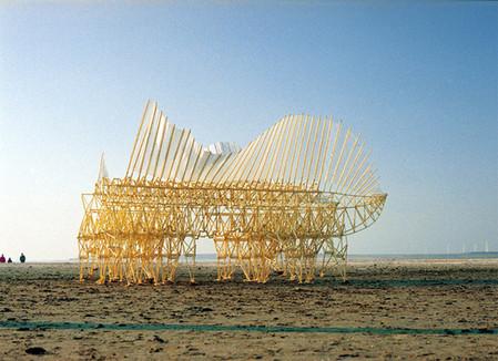 В поисках ветра. Кинетические скульптуры Тео Янсена — фото 3