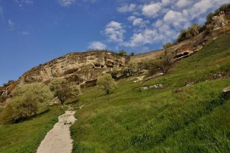 Старинная крепость Чуфут-Кале — фото 1
