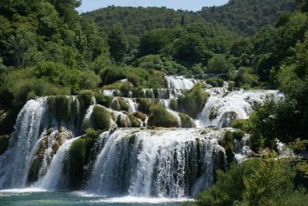 Водопады парка Крка
