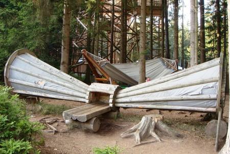 Лесной граммофон позволяет лучше услышать лесные звуки