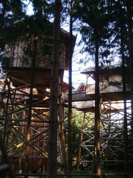 Избушка на 10-метровых ножках — мини-отель