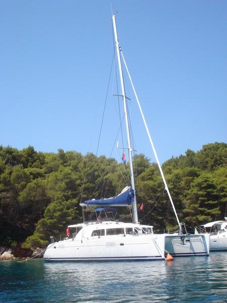 Наша яхта/катамаран Cat Lagoon 410