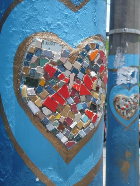 Фонарные столбы. Флорианополис — сердечный город