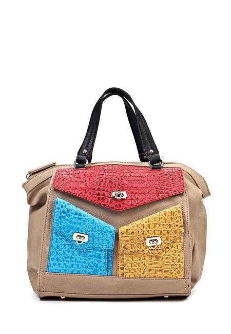 Модные сумки в стиле Color block - воплощение универсальности — фото 14