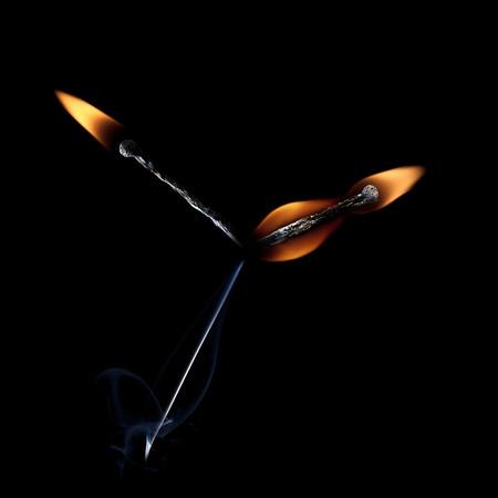 Из дыма и огня. Креативные фотографии горящих спичек. — фото 13