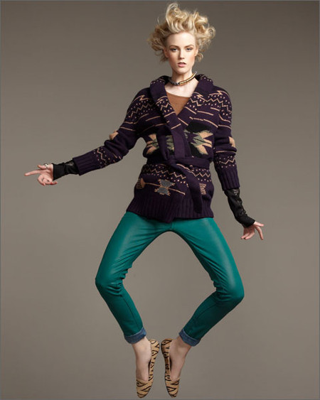 Низкий каблук и плоская подошва: лоферы, балетки, мокасины в модных коллекциях 2013 года — фото 25