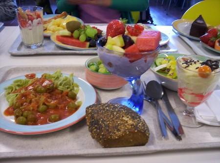 Школьный обед в Германии — одна из самых обильных трапез