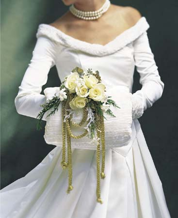 """Вариант для """"зимней"""" невесты"""