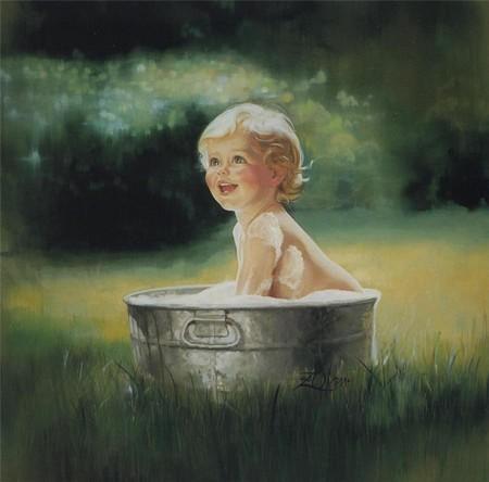 Очарование детства в творчестве Дональда Золана — фото 1