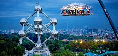 """Обед на высоте 50 метров от проекта """"Dinner in the Sky"""" — фото 4"""