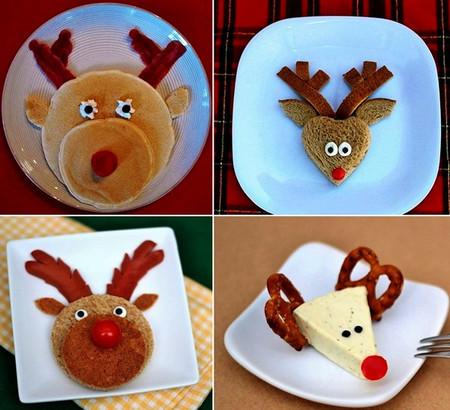Фаст-фуд тоже может быть новогодним — сапожки из сосисок :-)