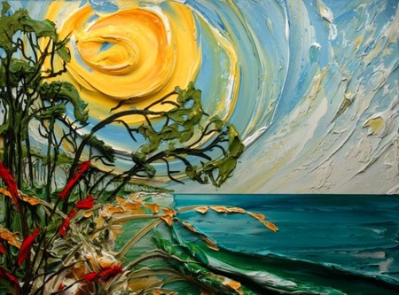 Необычные объемные картины Джастина Геффри — фото 17