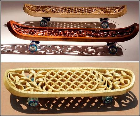 Скейтборд как арт-объект от Тобиаса Мегерле — фото 1