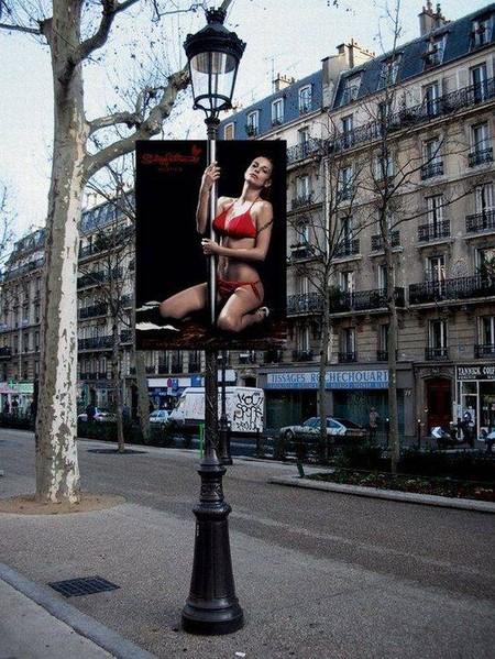 Креативная реклама на столбах — фото 4