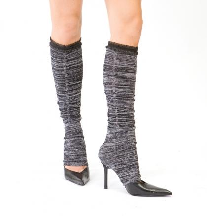 Демисезонные гетры часто представляют собой гибрид гетр и носков