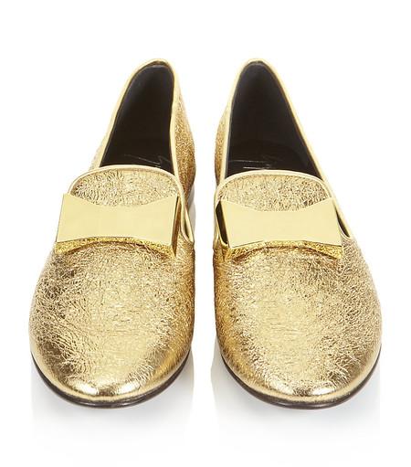 Низкий каблук и плоская подошва: лоферы, балетки, мокасины в модных коллекциях 2013 года — фото 20