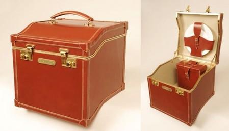 Гибрид чемодана и корзины для пикника