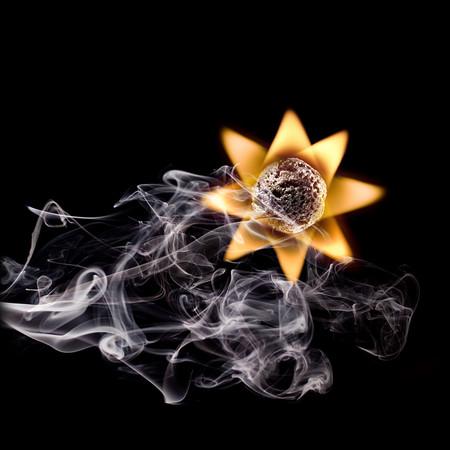 Из дыма и огня. Креативные фотографии горящих спичек. — фото 3