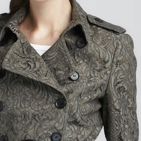 Кружево - модный тренд наступившей осени — фото 20