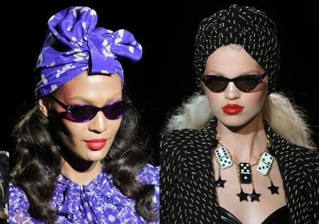 Нескромные косынки - модный тренд лета 2012 — фото 14