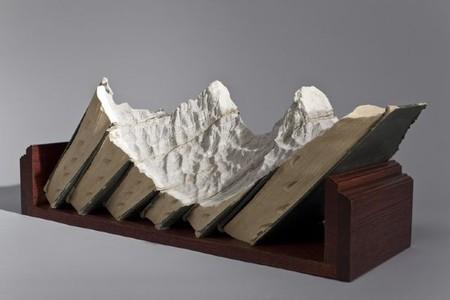 Горный ландшафт — любимый образ скульптора