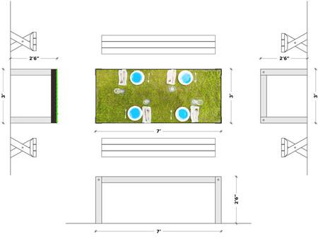 Пикник круглый год - дизайнерский проект picNYC Table — фото 4