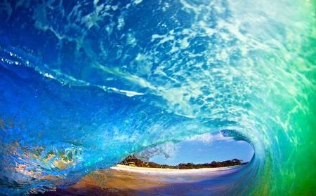 Фотографии Кенжи Кромана: в самом сердце океанской волны — фото 1