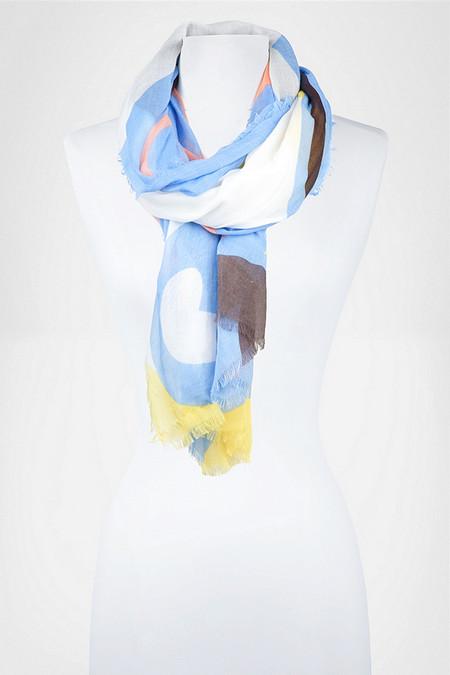 Аксессуары от королевы стиля - шарфы и платки от Diane von Furstenberg — фото 12