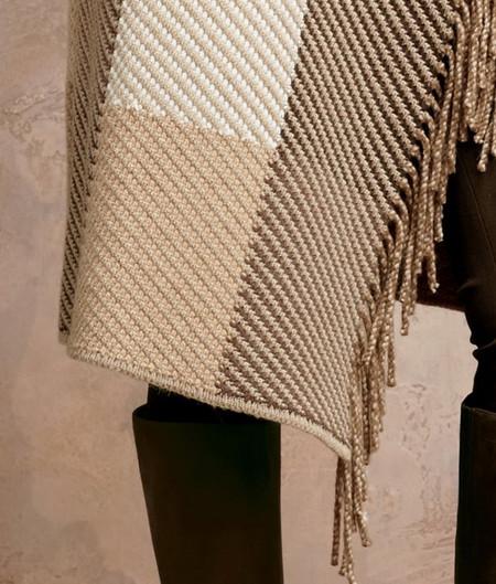 Фактура ткани и отделка бахромой