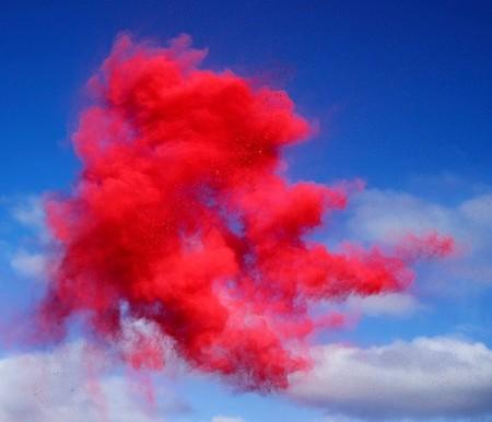Рукотворные цветные облака от Роба и Никки Картер — фото 6
