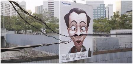 Реклама триммера для носа :-)