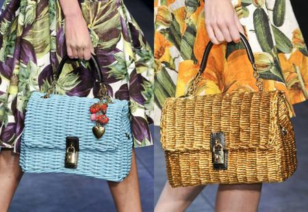 Голубой и золотой — вот варианты от Dolce&Gabbana