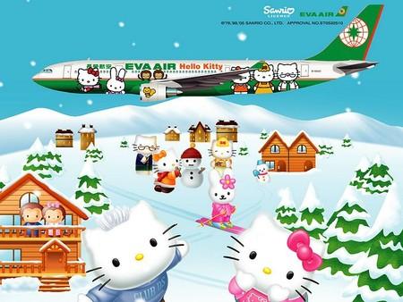 Лайнер Hello Kitty, приводящий в восторг тайваньских пассажиров. — фото 10