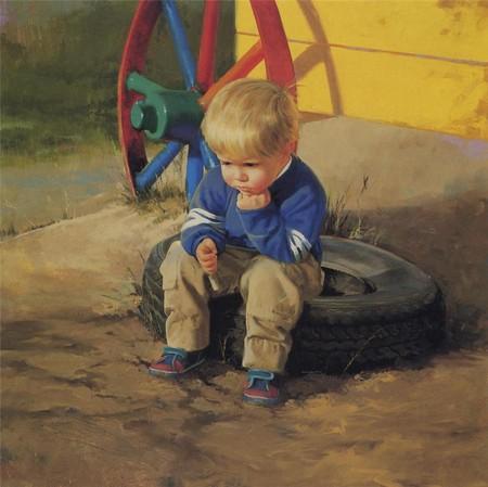 Очарование детства в творчестве Дональда Золана — фото 4