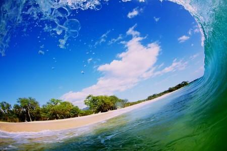 Фотографии Кенжи Кромана: в самом сердце океанской волны — фото 2
