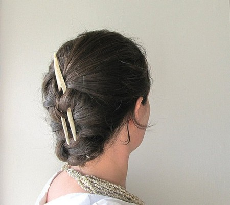 Заколки и гребни для волос из оленьего рога от JC McCairn — фото 5