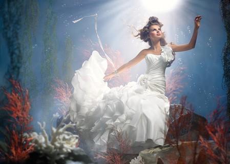 Платье в стиле русалочки Ариэль