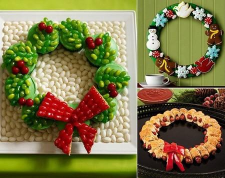 Новогодний декор для праздничных угощений — фото 12