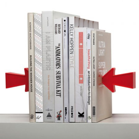 Дизайн на книжной полке: креативные подставки для книг — фото 14