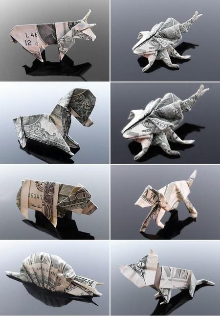 Рыбы и животные — традиционные образы в оригами