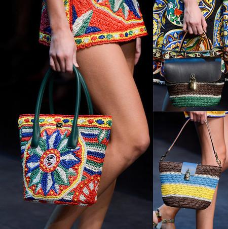 Яркие сумки-плетенки для лета 2013 — фото 12