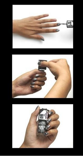 Магнитные лаки для ногтей - необычный нейл-дизайн в домашних условиях — фото 3