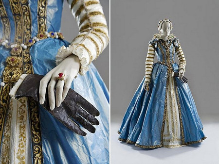 Старинные платья из бумаги от Изабель де Боршграв — фото 4