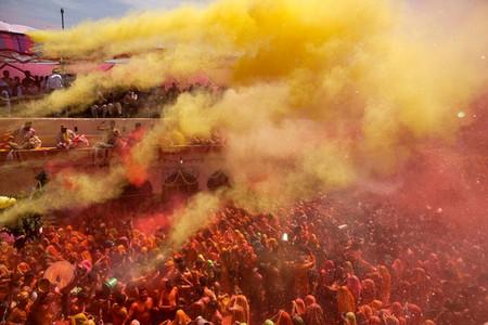 Фестиваль Красок Холи в Индии — фото 5