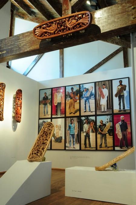 Скейтборд как арт-объект от Тобиаса Мегерле — фото 4
