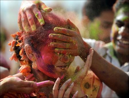 Фестиваль Красок Холи в Индии — фото 1
