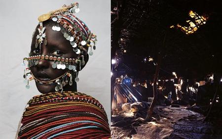 Нантио, 15 лет, из племени Rendille в северной части Кении.